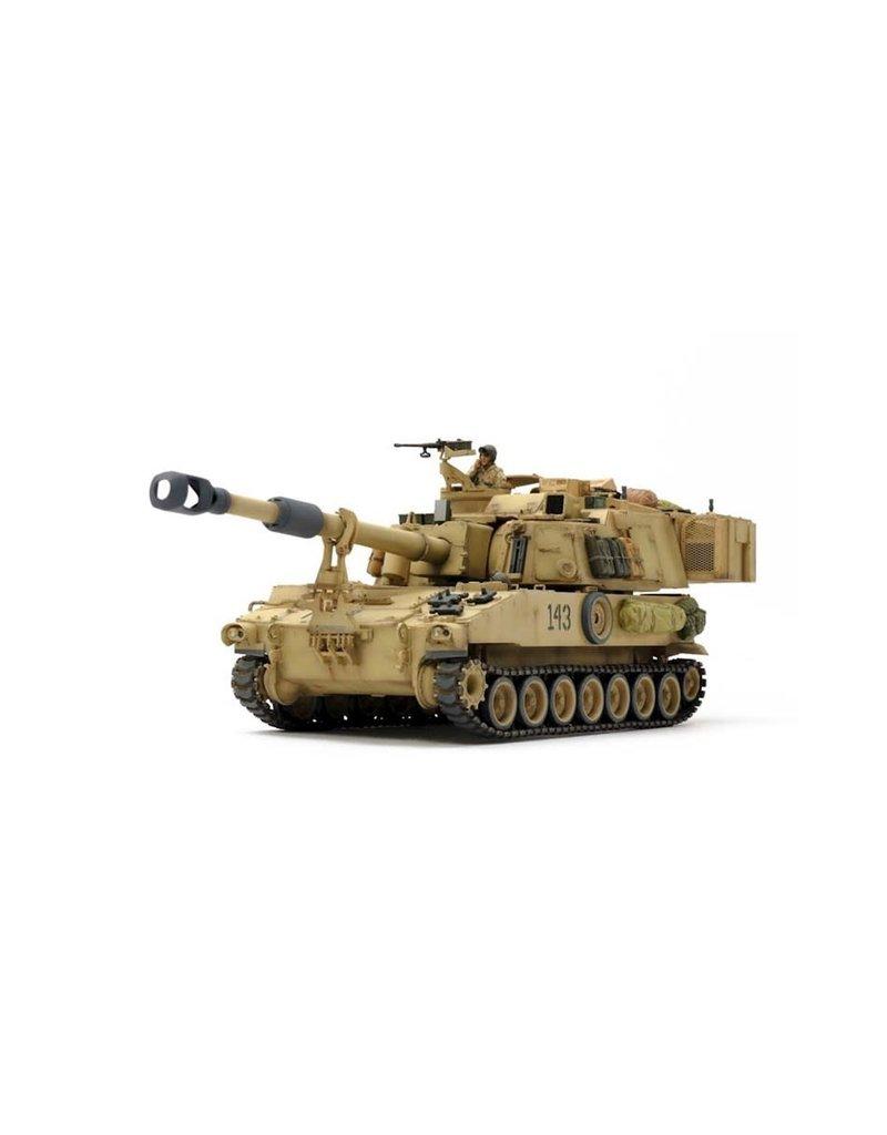 TAMIYA TAM37026 1/35 SELF-PROPELLED HOWITZER M109A6 PALADIN, IRAQ