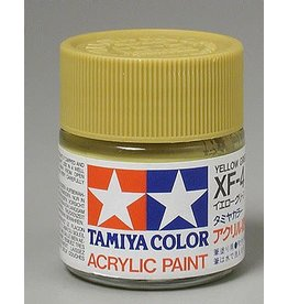 TAMIYA TAM81304 ACRYLIC X4F FLAT, YELLOW GREEN