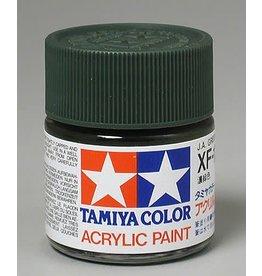 TAMIYA TAM81311 ACRYLIC XF11 FLAT, JUNGLE GREEN