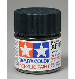 TAMIYA TAM81317 ACRYLIC XF17 FLAT, SEA BLUE
