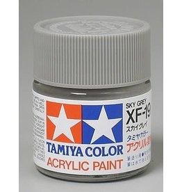 TAMIYA TAM81319 ACRYLIC XF19 FLAT, SKY GREY