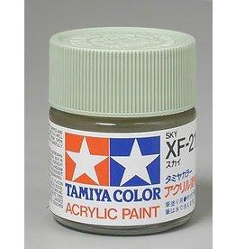 TAMIYA TAM81321 ACRYLIC XF21 FLAT, SKY