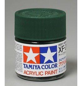 TAMIYA TAM81326 ACRYLIC XF26 FLAT, DEEP GREEN