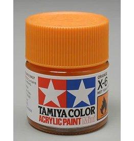 TAMIYA TAM81506 ACRYLIC MINI X6, ORANGE
