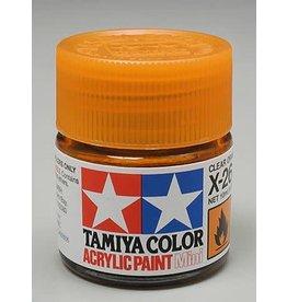 TAMIYA TAM81526 ACRYLIC MINI X26, CLEAR ORANGE