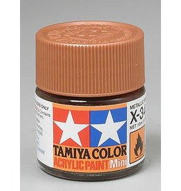 TAMIYA TAM81534 ACRYLIC MINI X34, METALLIC BROWN