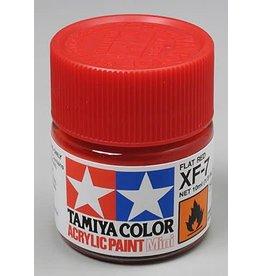 TAMIYA TAM81707 ACRYLIC MINI XF7 FLAT, RED