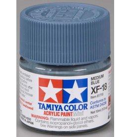 TAMIYA TAM81718 ACRYLIC MINI XF18, MEDIUM BLUE