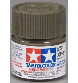 TAMIYA TAM81751 ACRYLIC MINI XF51, KHAKI DRAB