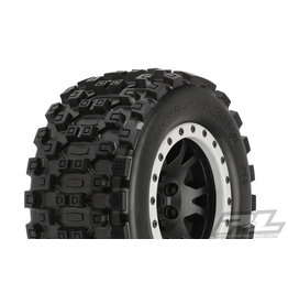 PROLINE RACING PRO1013113 BADLANDS MX43 PRO-LOC MNT IMPULSE BLK,GREY(2):XMX