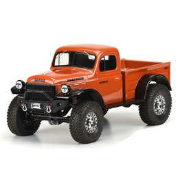PROLINE RACING PRO349900 1946 DODGE POWER WAGON CLEAR BODY: 12.3 WB CRAWLER