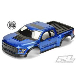 PROLINE RACING PRO346113 2017 F-150 RAPTOR SCALE BODY, BLUE ( MNT KIT REQ)