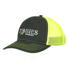 MY TOBBIES MY TOBBIES TRUCKER HAT: NEON YELLOW