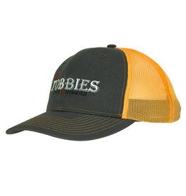 MY TOBBIES MY TOBBIES TRUCKER HAT: NEON ORANGE