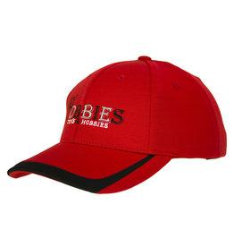 MY TOBBIES MY TOBBIES SPORT FRONTLINE HAT: RED