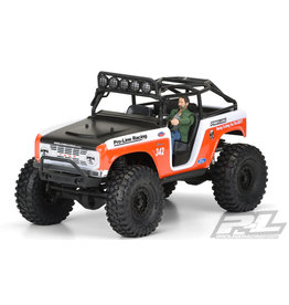 PROLINE RACING PRO348800 1966 FORD BRONCO CLEAR BODY : SCX10 DEADBOLT