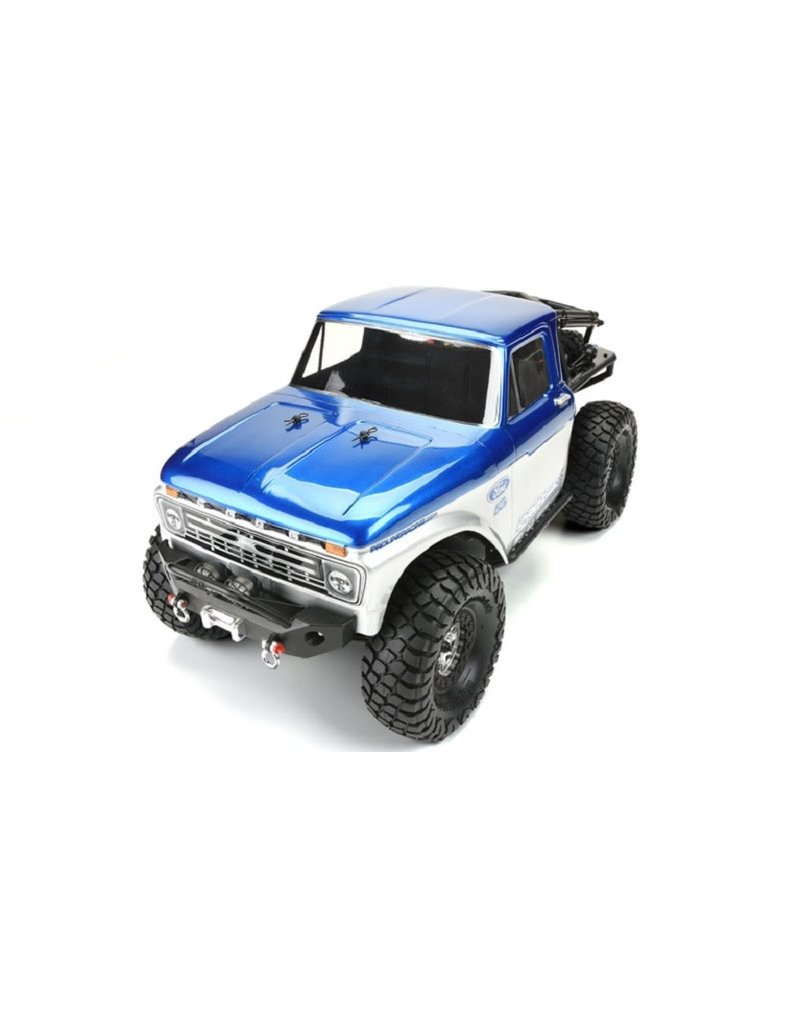 PROLINE RACING PRO346400 66 FORD F100 CLEAR BODY:SCX10 TRAIL HONCHO 12.3 WB