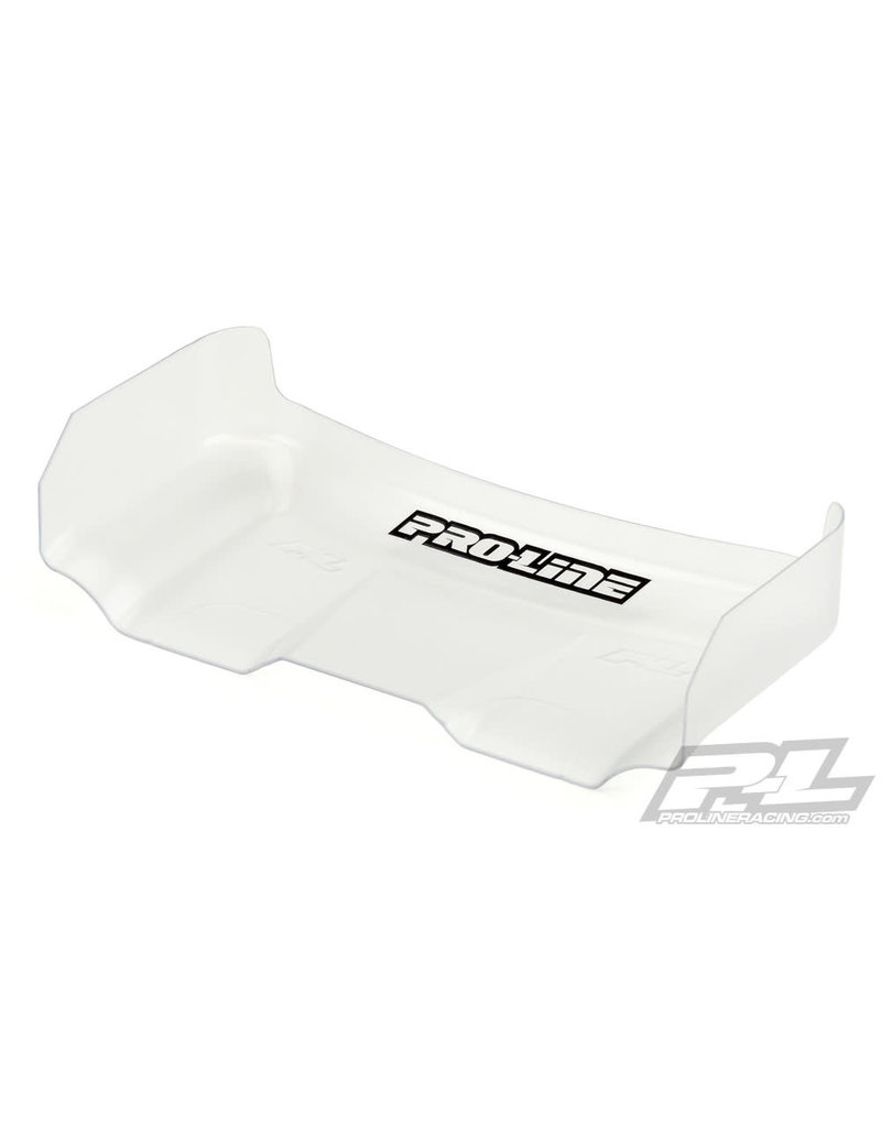 PROLINE RACING PRO629417 PRE-CUT AIR FORCE 6.5 CLEAR REAR WING :BUGGY