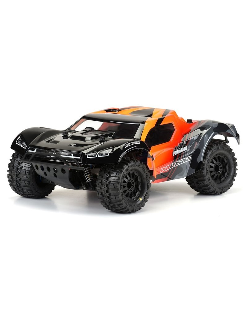 PROLINE RACING PRO349817 PRE-CUT MONSTER FUSION CLEAR BODY: SLH 2WD