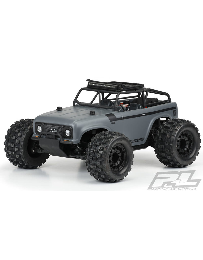 PROLINE RACING PRO350400 AMBUSH CLEAR BODY W/ TRAIL CAGE: PRO-MT/ST 4X4