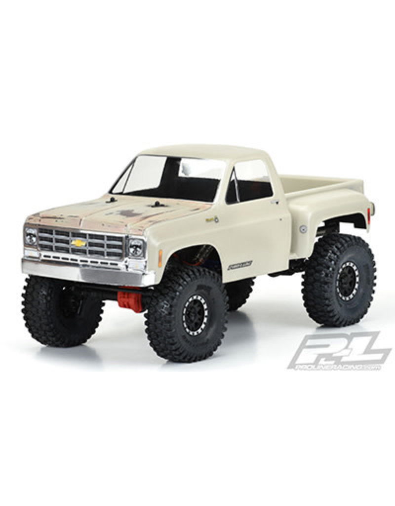 """PROLINE RACING PRO3522-00 1978 CHEVY K-10 CLEAR BODY: 12.3"""""""