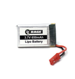 RAGE RGR4054 1S LIPO 3.7V 650MAH STINGER BATTERY