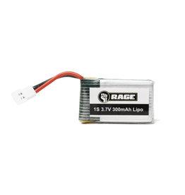 RAGE RGR3060 1S 3.7V 300MAH LIPO ORBIT FPV