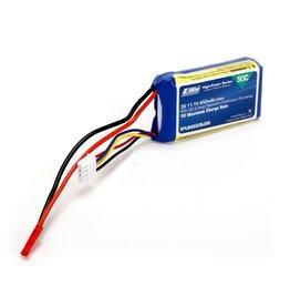 E-FLITE EFLB4503SJ50 3S 11.1V 450MAH 50C