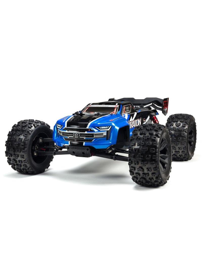 ARRMA ARA106040T2 KRATON V4 6S BLX 1/8 4WD SCALE MONSTER TRUCK BLUE/BLACK