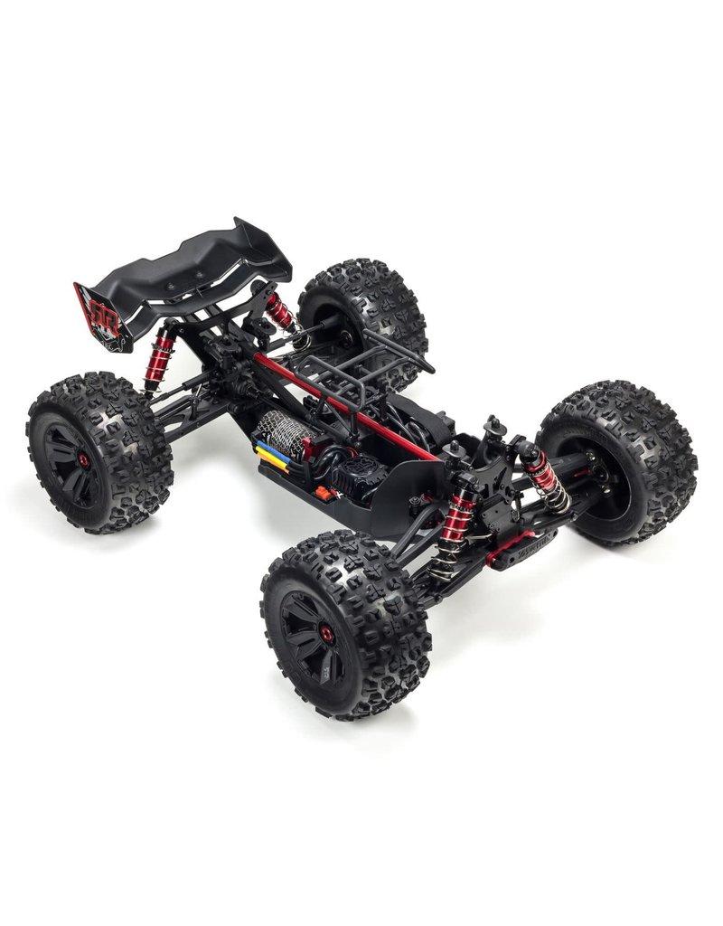 ARRMA ARA106040T1 KRATON V4 6S BLX 1/8 4WD SCALE MONSTER TRUCK RED/BLACK