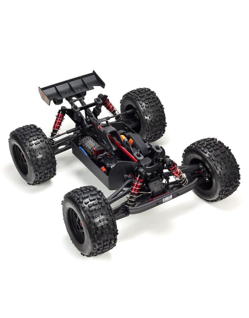 ARRMA ARA106042T1 OUTCAST V4 6S BLX 1/8 4WD SCALE STUNT TRUCK DARK SILVER