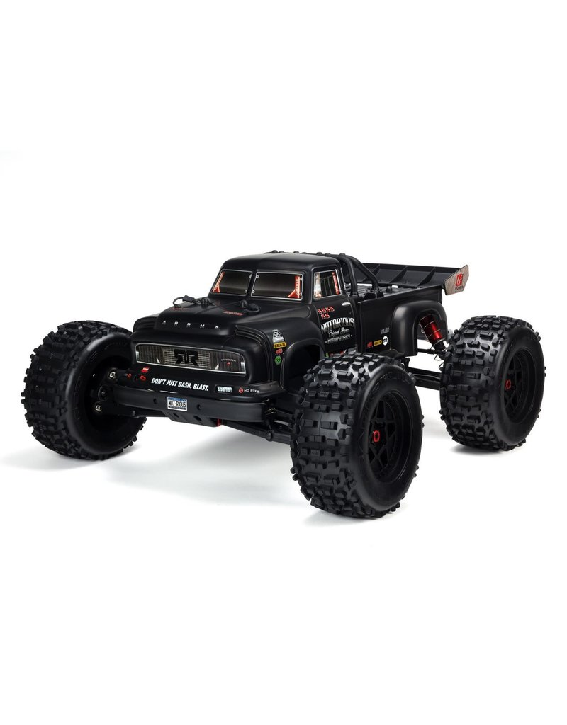 ARRMA ARA106044T1 1/8 NOTORIOUS 6S 4WD BLX V4: BLACK