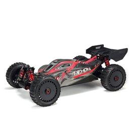 ARRMA DISC. ARA106046 TYPHON V4 6S BLX 1/8 SCALE 4WD BUGGY BLACK/RED