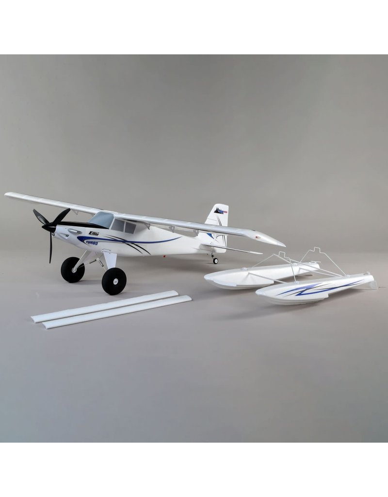 E-FLITE EFL15250 TURBO TIMBER 1.5M BNF BASIC WITH AS3X AND SAFE SELECT, INCLUBES FLOATS