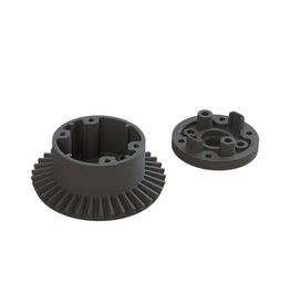ARRMA AR310872 DIFFERENTIAL CASE SET 37T MAIN GEAR: BLX 3S
