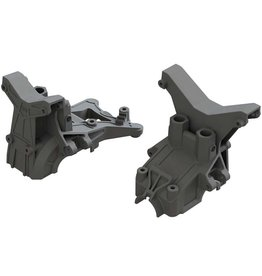 ARRMA AR320399 FRONT AND REAR COMPOSITE UPPER GEARBOX COVERS & SHOCK TOWER
