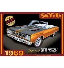 AMT AMT1137M/12 1969 PLYMOUTH GTX CONVERTIBLE
