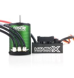 CASTLE CREATIONS CSE010015502 MAMBA X ESC WP 1406-5700KV ENGINE COMBO