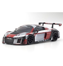 KYOSHO KYO32323RGB-B MINI-Z AUDI R8 LMS 2016: GRAY/RED