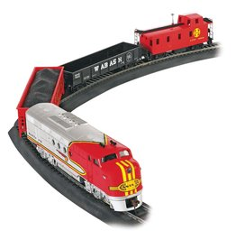 BACHMANN BAC00647 SANTA FE FLYER TRAIN SET