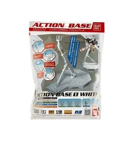 BANDAI BAN148217 1/100 WHITE DISPLAY STAND ACTION BASE 1