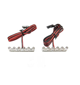 KILLER RC DDMTR224 KILLER RC TAIL LED LIGHTS:6 RED LEDS