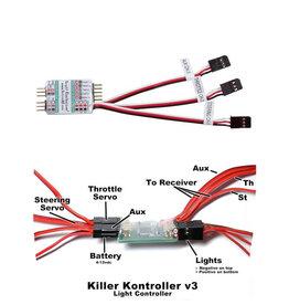 KILLER RC DDMTR244 KILLER RC V3 LIGHT CONTROLLER