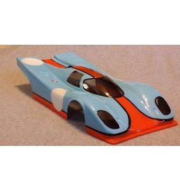 DELTA PLASTIK USA DPB1 PORSCHE 917 SPEED RUN BODY: CLEAR