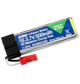 E-FLITE EFLB5001S25 3.7V 500MAH 25C LIPO