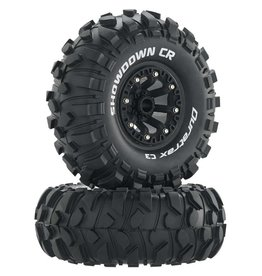 "DURATRAX DTXC4050 SHOWDOWN CR C3 MOUNTED 2.2"" CRAWLER BLACK (2)"