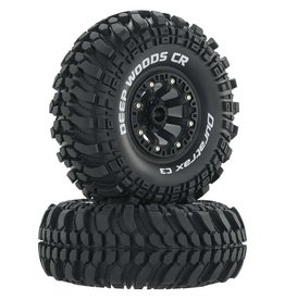 "DURATRAX DTXC4042 DEEP WOODS CR C3 MOUNTED 2.2"" CRAWLER BLACK (2)"