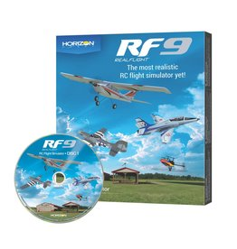 REALFLIGHT RFL1101 REALFLIGHT 9 SIMULATOR SOFTWARE ONLY