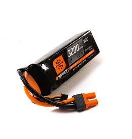 SPEKTRUM SPMX32006S30 22.2V 3200mAh 6S 30C SMART LIPO: IC5