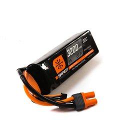 SPEKTRUM SPMX32006S30 22.2V 3200mAh 6S 30C SMART LIPO: IC5